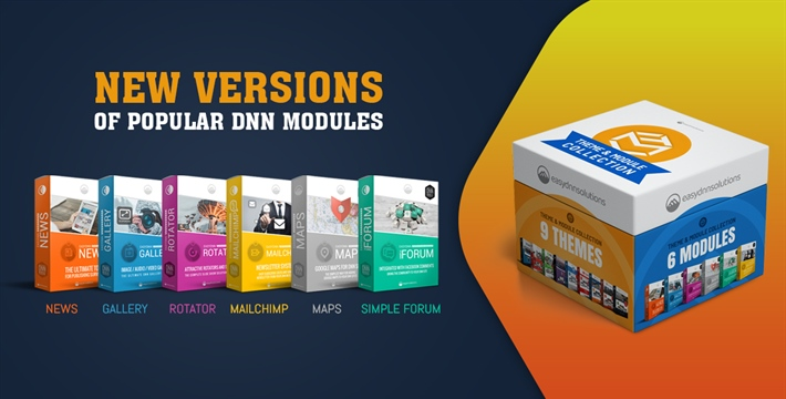 New versions of our modules (DNN 9.8 compatible)
