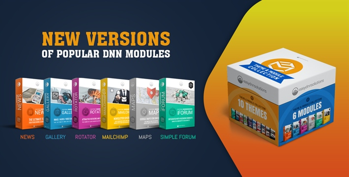 New versions of our modules (DNN 9.9 compatible)