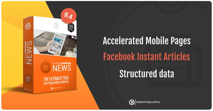EasyDNN News - AMP, Facebook Instant Articles and Structured data