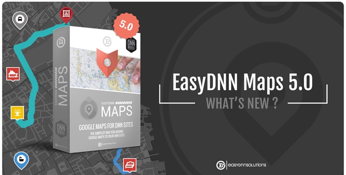 What's new in EasyDNN Maps 5.0