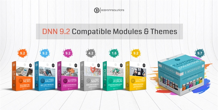 DNN 9.2 Compatible Versions of Our Modules and Themes
