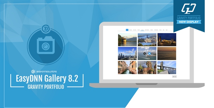 Gravity Portfolio - new gallery display in EasyDNN Gallery 8.2