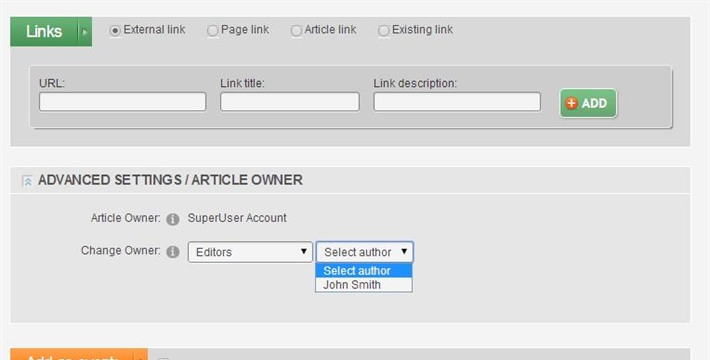 Changing the article author in EasyDNNnews module