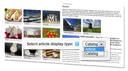 Features articles